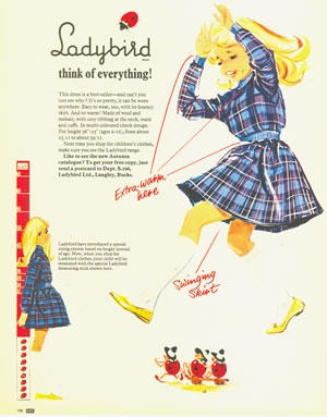 Advert for Ladybird cloths